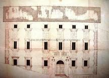 Prospetto Palazzo Marini (Disegno Arch. Giulio Aniballi)