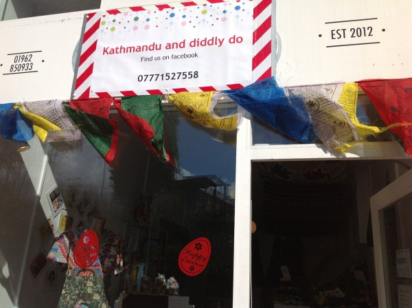 The opening of Kathmandu and diddly do. Feb 2013