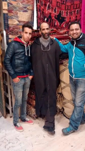 My wonderful team in morocco