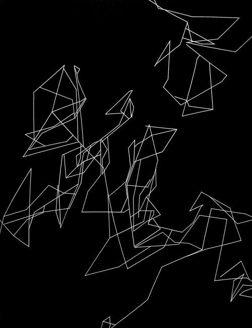 Grabado, Obra Fracción I de Ernesto Alva