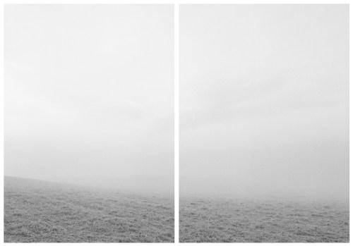 """Díptico. Fotografía de la artista Andrea Martinez. Serie """"Líneas Imaginarias"""""""