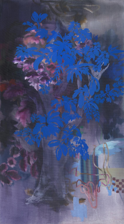 Pintura, Arbol Nocturno de Magdalena Rantica
