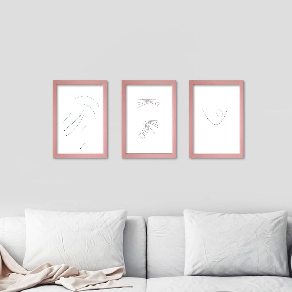 Dibujo digital, las cosas infinitas #2 de Fernanda Barreto en living
