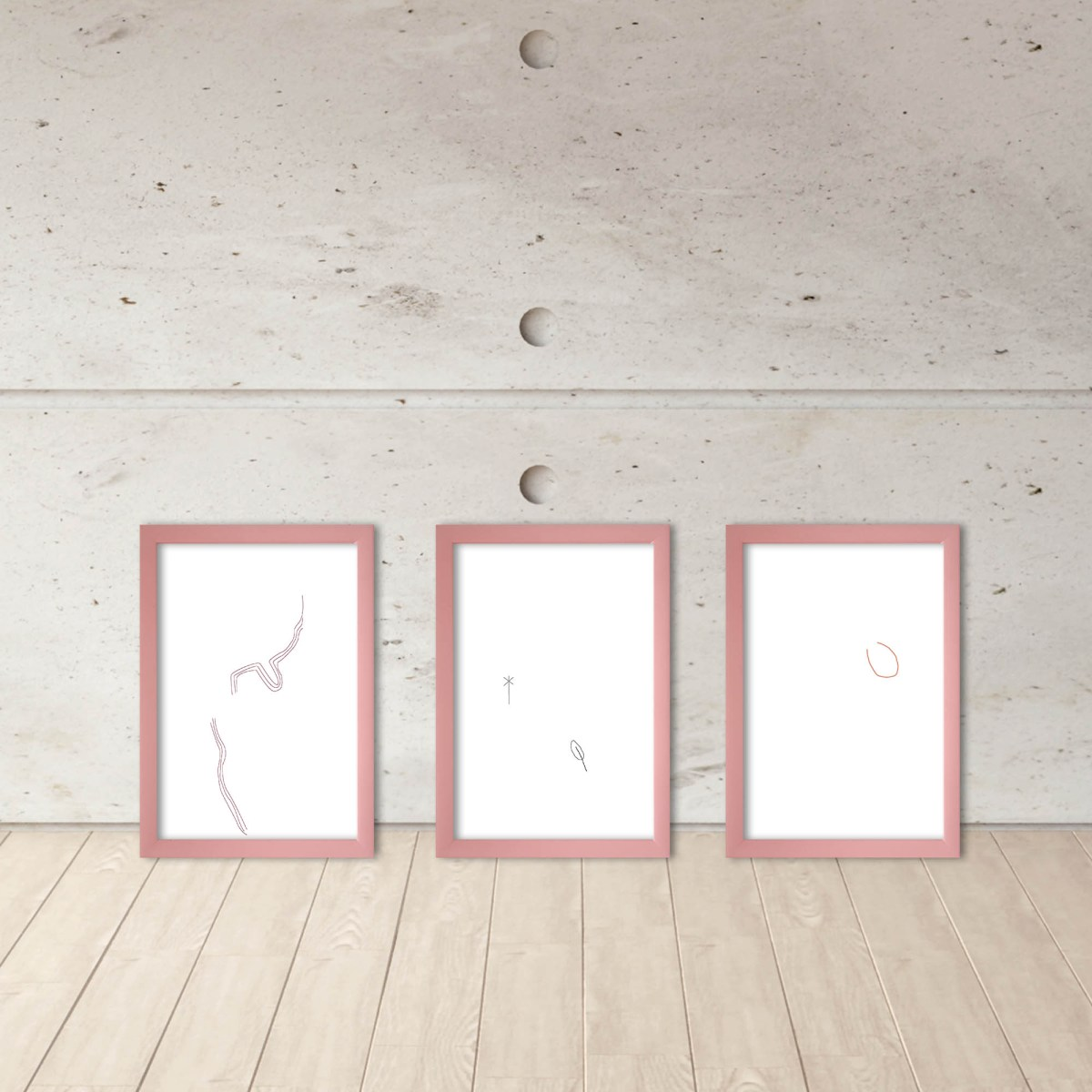 dibujo digital, las cosas infinitas #14 en espacio de Fernanda Barreto