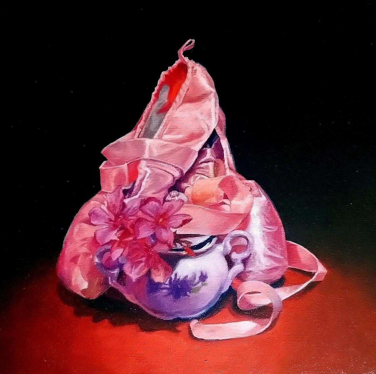 Naturaleza muerta de Oleo sobre tela del artista Manuel Mathar