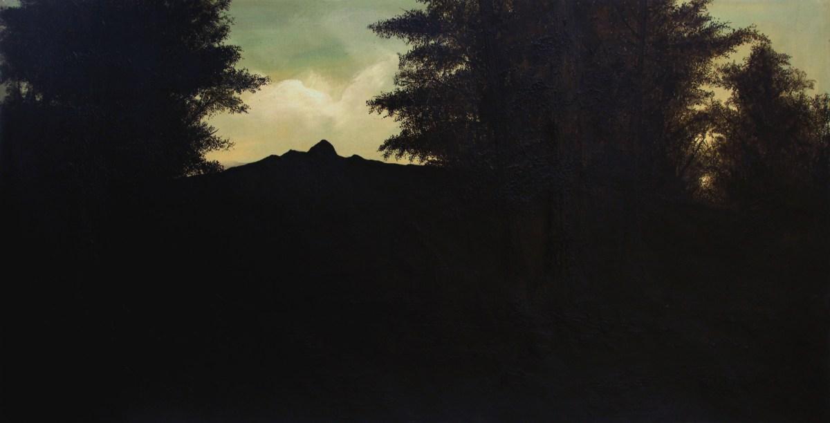 Carlos Vielma, pintura sobre pintura de autor desconocido