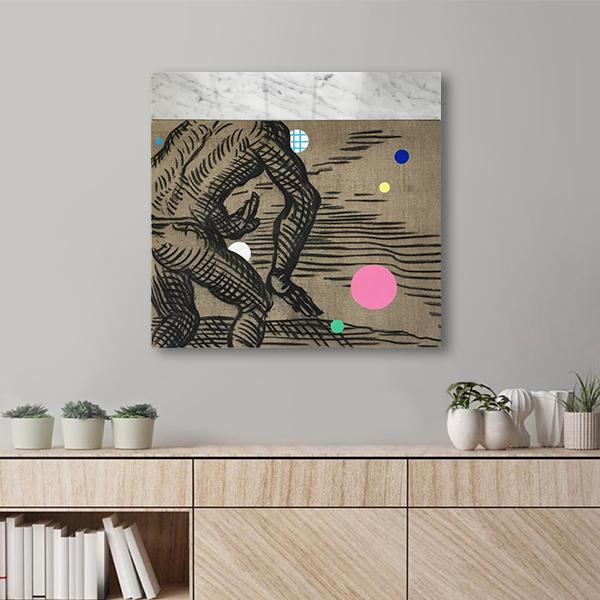 Obra Movimiento de Alejandro Pintado en escritorio