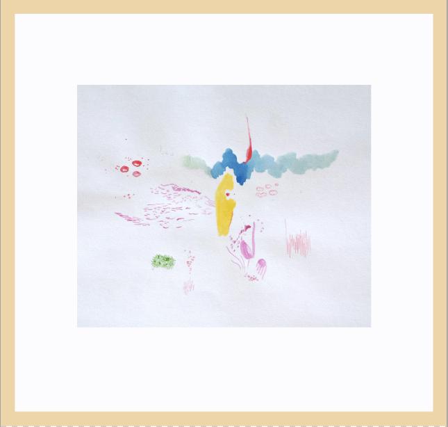 Pintura, Paisaje Submarino de Diana Quintero Vallejo