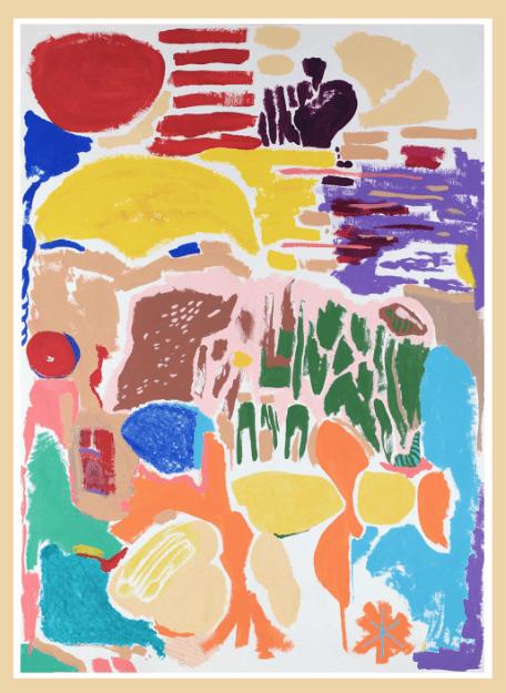 Pintura, Siete Soles y un jardín de Diana Quintero Vallejos