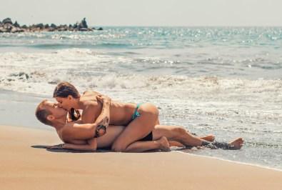 Sexe sur la plage