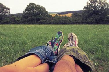Faire l'amour dans la nature