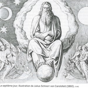 Le septième jour - Julius Schnorr von Carolsfeld