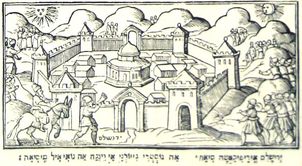 Haggadah de Venise-Prophète Elie-détail