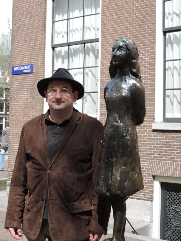 Statue d'Anne Frank