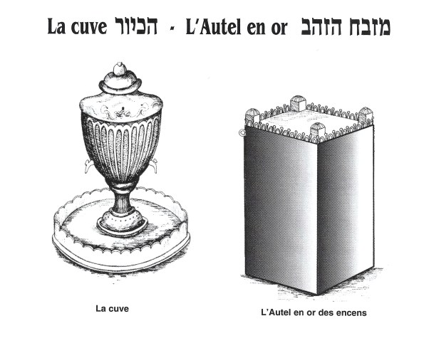 La cuve-l'autel en or