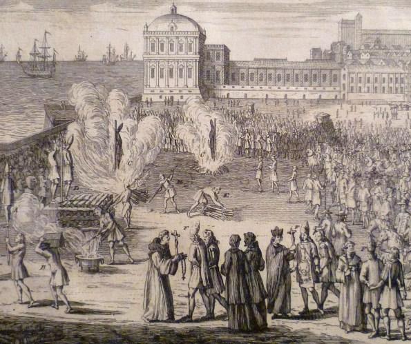 Procès d'Inquisition. Photo Olivier Long, Casa de sefarad, Judéria de Cordoue. http://www.casadesefarad.es/