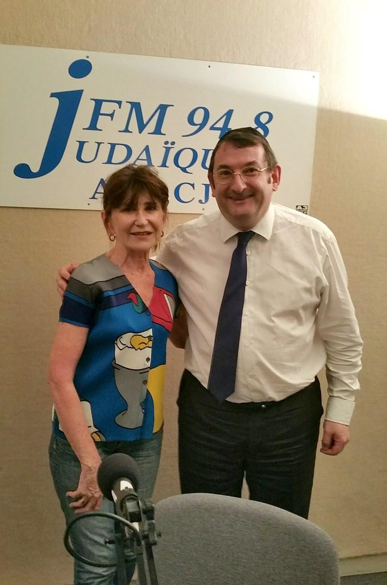 Maya Nahum et Didier Long sur Judaiques FM