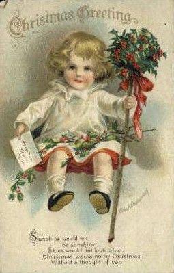 Les Cartes Anciennes Noel