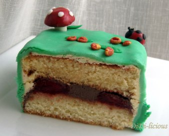 Торта разрез