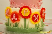 1st Birthday Cake Flower Name