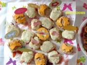 Тематични сандвичи с пеперуди