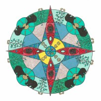 Kayak Mandala (May) - SOLD