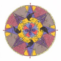 Crow Mandala (November) - $125