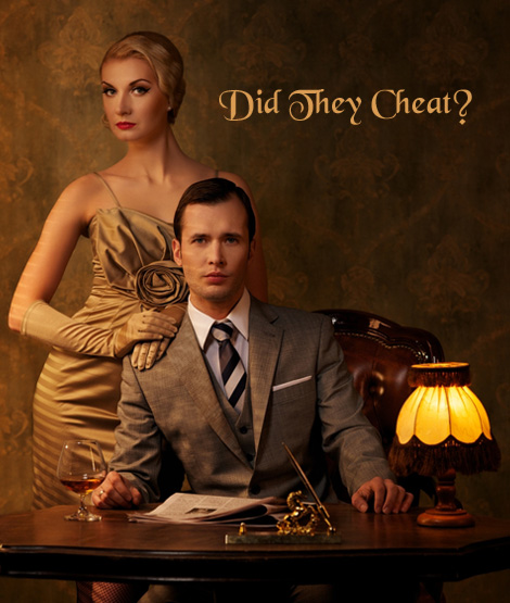 Original Gatsby Cheaters Portrait - Join Network - The DTC Global Database