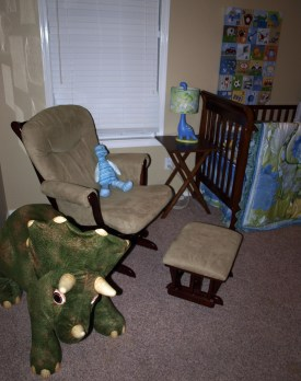 Nursery with Chair