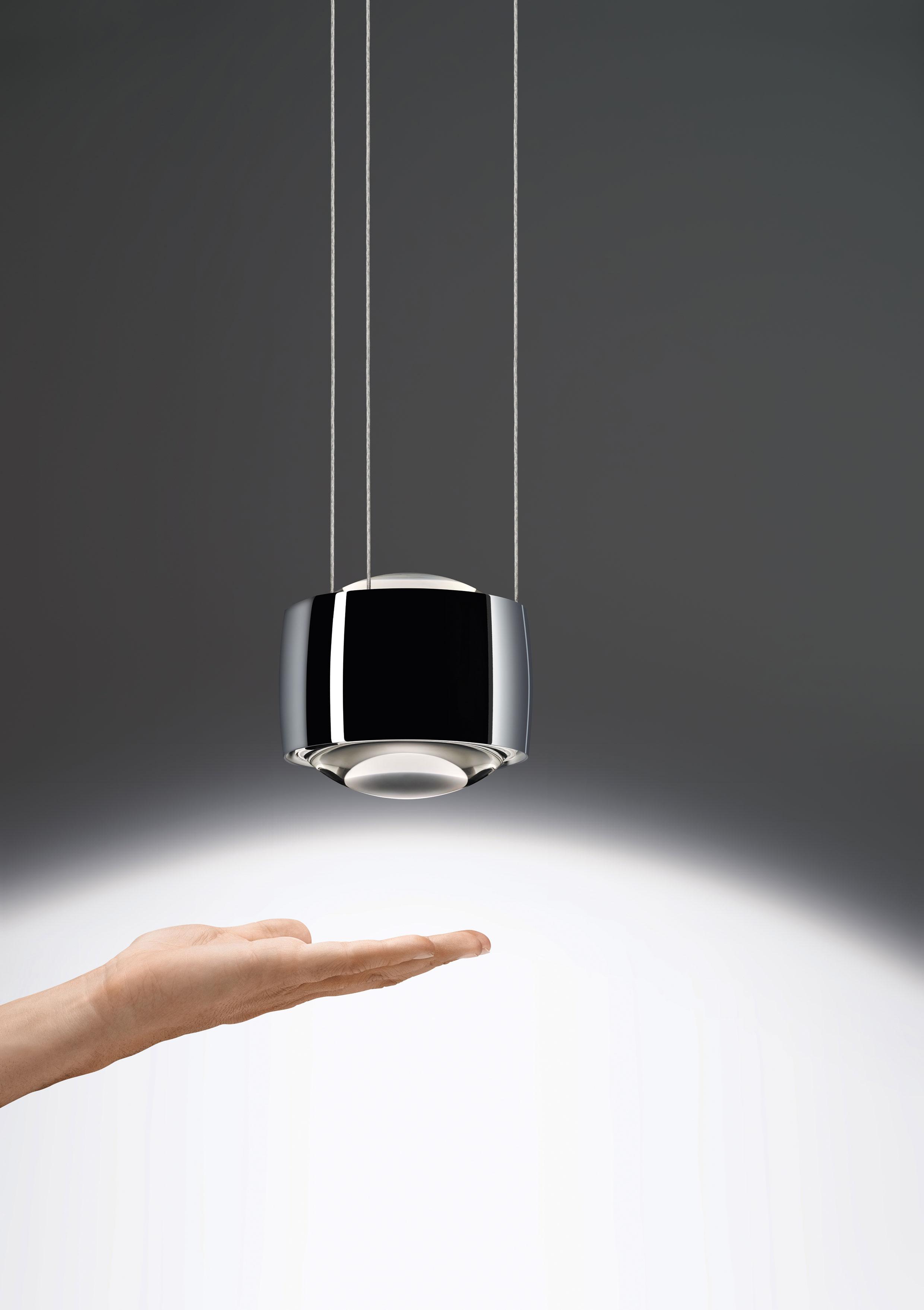 Design Pendelleuchte   Esstisch Lampen-graue-stühle ...