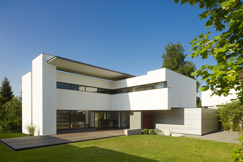 Zwei Häuser Für Zwei Schwestern  Moderne Einfamilienhäuser