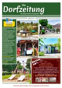 Titelseite des Magazins Die Dorfzeitung Reinickendorf August 2020