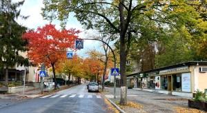 Die heinsestraße in Hermsdorf