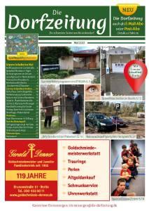 Titelbild Die Dorfzeitung Reinickendorf Mai 2021