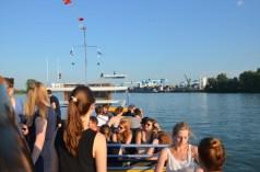 Blick auf den Mainzer Zollhafen