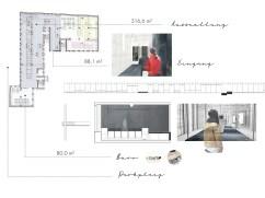 Eingang + Ausstellungsbereich