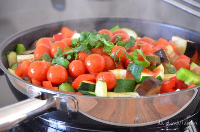 Ratatouille Rezepte Gemüse in der Pfanne
