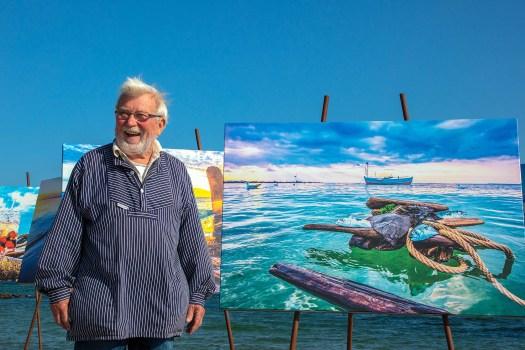 Fotoausstellung Strandgut in Sierksdorf am Ostseestrand