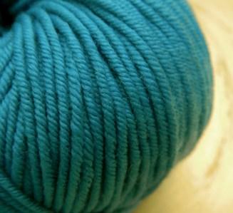 © Die Maschen zum Glück | Life Style Taubenblau von Schoppel Wolle