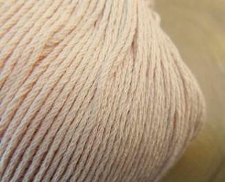 Atelier Zitron   Echt Bio BaumwolleLachs Pastell   Bio Baumwolle ohne Gentechnik für Allergiker geeignet   © Die Maschen zum Glück
