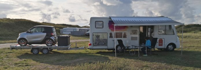 Wohnmobil in Dänemark