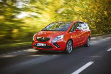 Sehr beliebt: Der Opel Zafira. © Opel