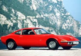 Production-ready: The Opel GT from 1968.