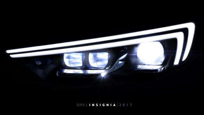 Opel Insignia IntelliLux LED® matrix light