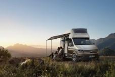 Aus dem Florida wird ein California XXL: VW Nutzfahrzeuge präsentiert eine Studie auf Crafter Basis. © VWN