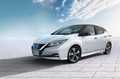Der neue Nissan Leaf ist optisch deutlich ansprechender als der eher biedere Vorgänger. © Nissan