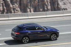 Sprintstar: Auf Asphalt beschleunigt der 430-PS-Levante in 5,2 Sekunden auf Tempo 100. © Maserati