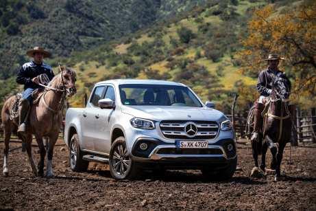 Die X-Klasse soll der Mercedes unter den Pick-ups werden. Operation gelungen, sagt schon der erste Blick
