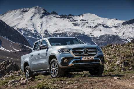 Chile, der 4270 Kilometer lange und nur 177 Kilometer schmale Andenstaat in Südamerika als Schauplatz für die Fahrpräsentation des ersten Pick-ups von Mercedes