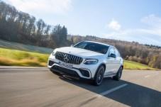 Beim AMG GLC 63 S 4Matic + ist alles auf Sport getrimmt. © Daimler